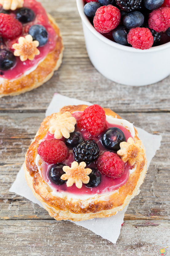 Mini Fruit Pizzas for Breakfast #12bloggers