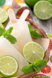 Moscow Mule Popsicles