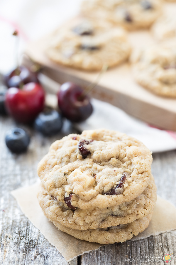 Fruity Oatmeal Cookies | Cookie on the Front Burner
