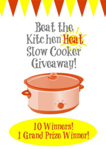 Time to Beat the Heat (Giveaway!)