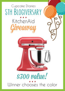 Kitchen Aid Mixer Giveaway!