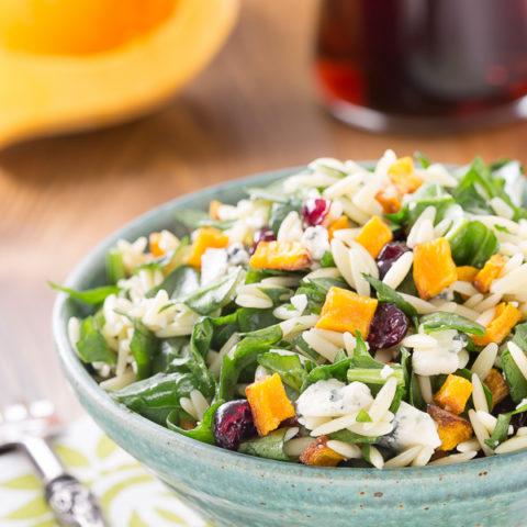 Butternut Squash Orzo Salad