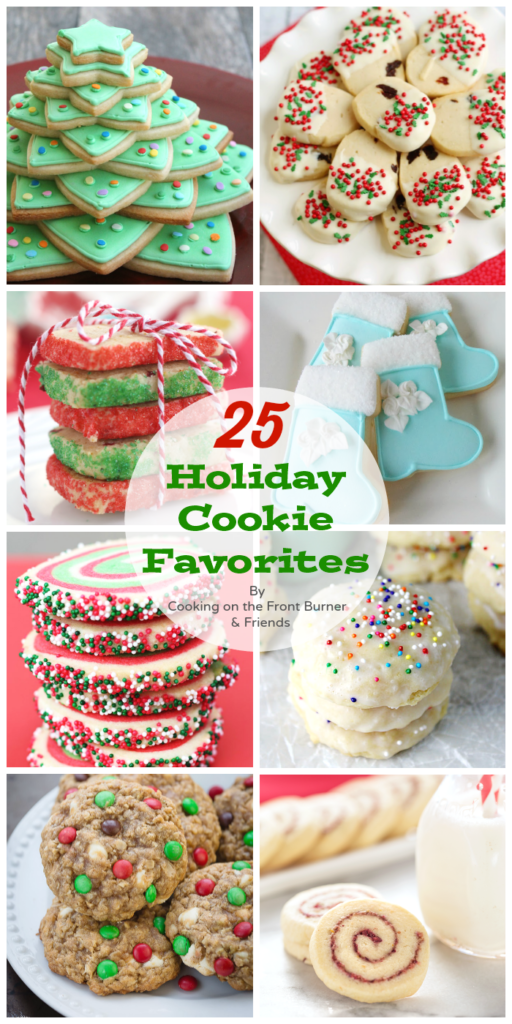 25 Holiday Cookies for your eating pleasure!!