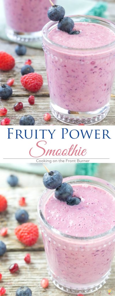 Fruity Power Smoothie   Cooking on the Front Buurner