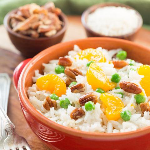 Pecan Orange Rice