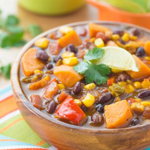 Sweet Potato and Black Bean Soup