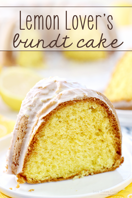 Lemon Lover's Bundt Cake