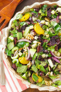 APPLE ALMOND POPPY SEED SALAD