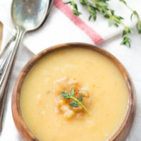 Pear and Sweet Potato Soup