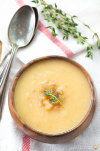 EASY PEAR & SWEET POTATO SOUP