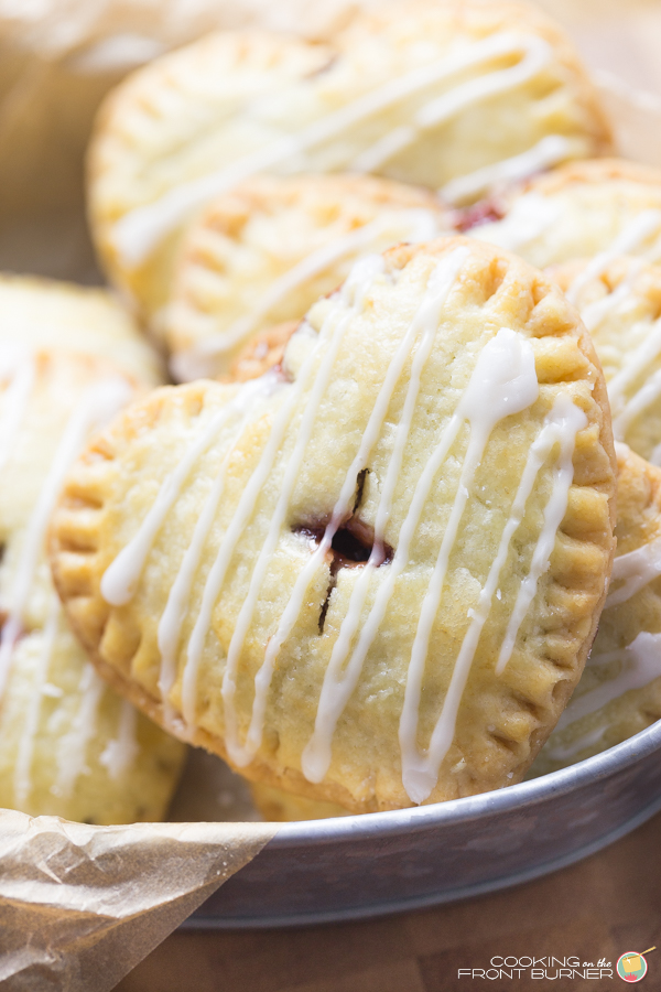 Chocolate Cherry Hand Pies | Cooking on the Front Burner