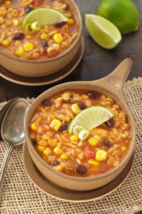 SOUTHWEST CHICKEN BARLEY SOUP