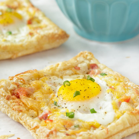 Egg and Ham Puff Pastry