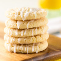 Lemon Glazed Sugar Cookies