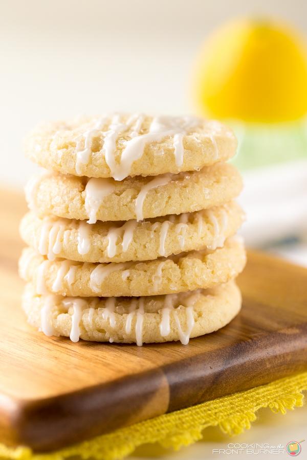 Lemon Glazed Cookie | Cooking on the Front Burner