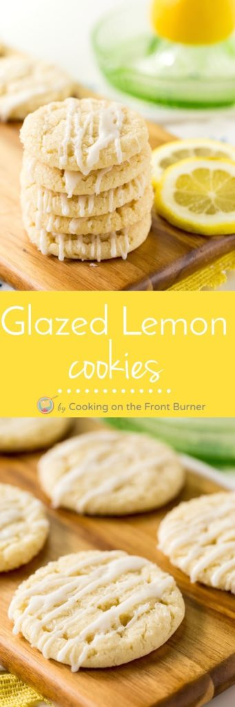 Glazed Lemon Cookies | Cooking on the Front Burner
