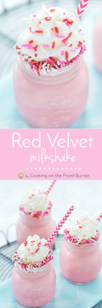 Red Velvet Milkshake | Cooking on the Front Burner