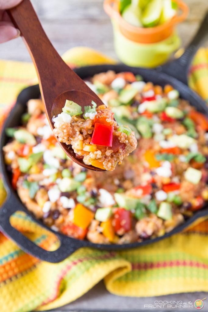 Mexican Quinoa Skillet Dinner