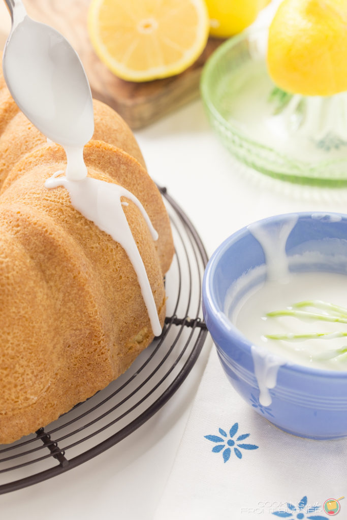 Lemon Pound Cake | Cooking on the Front Burner
