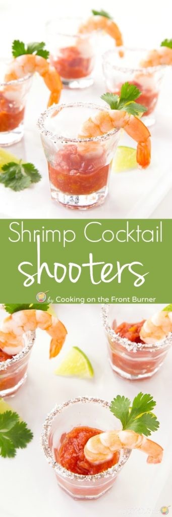 Shrimp Cocotail Shooters | Cooking on the Front Burner