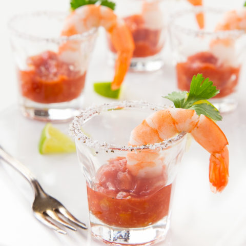 Shrimp Cocktail Shooters