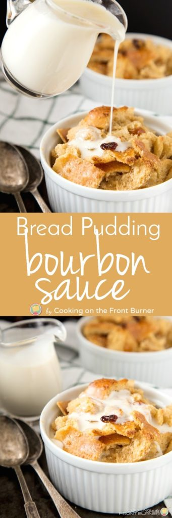 Bourbon Bread Pudding with Bourbon Sauce