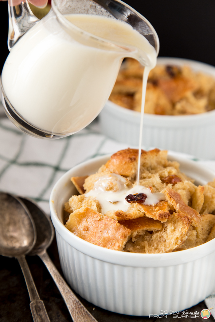 Bourbon Bread Pudding Cooking On The Front Burner