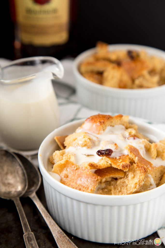 Bourbon Bread Pudding with Bouorbon Sauce