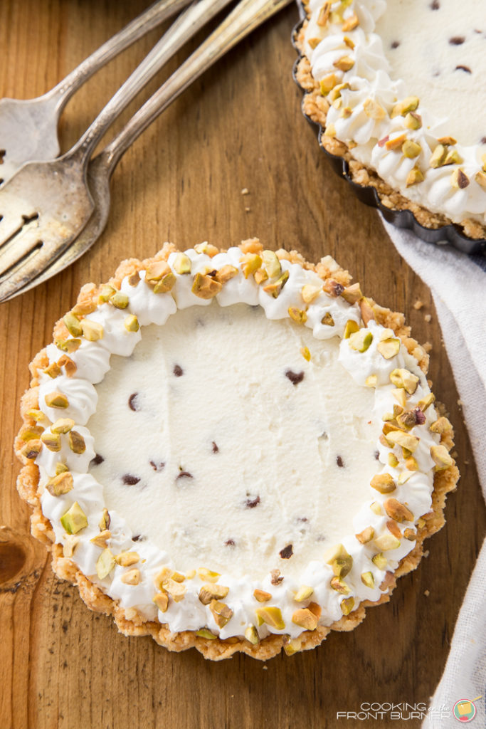 No Bake Cannoli Cheesecake | Cooking on the Front Burner