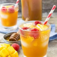 Raspberry Mango Iced Tea