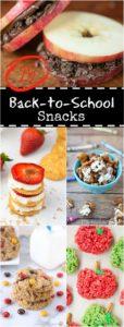 25 BACK TO SCHOOL SNACKS!