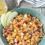 APPLE SWEET POTATO QUINOA SALAD