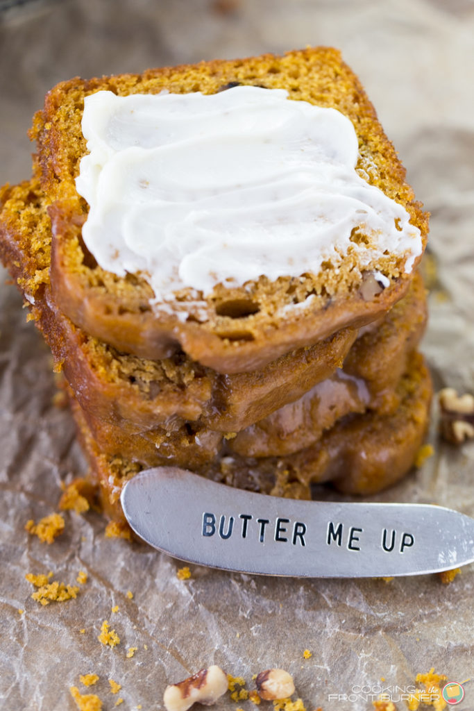 easy pumpkin banana nut quick bread