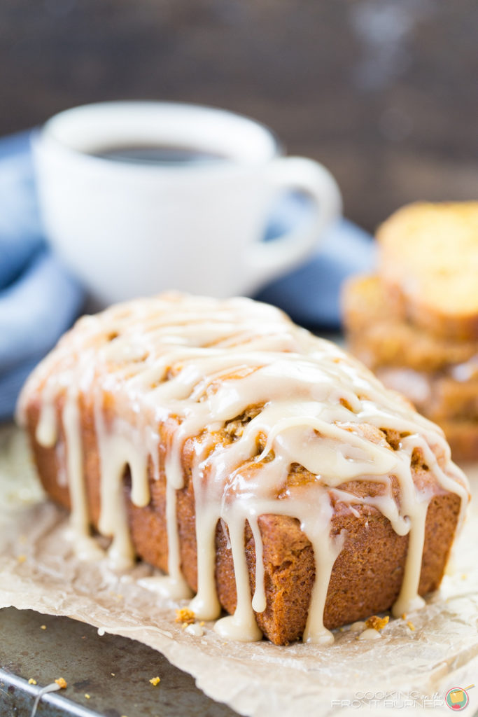 Pumpkin banana nut quick bread is the perfect snack for Fall. Bursting with fresh pumpkin puree, ripe bananas and walnuts, this quick bread recipe is a welcome treat with coffee or tea.