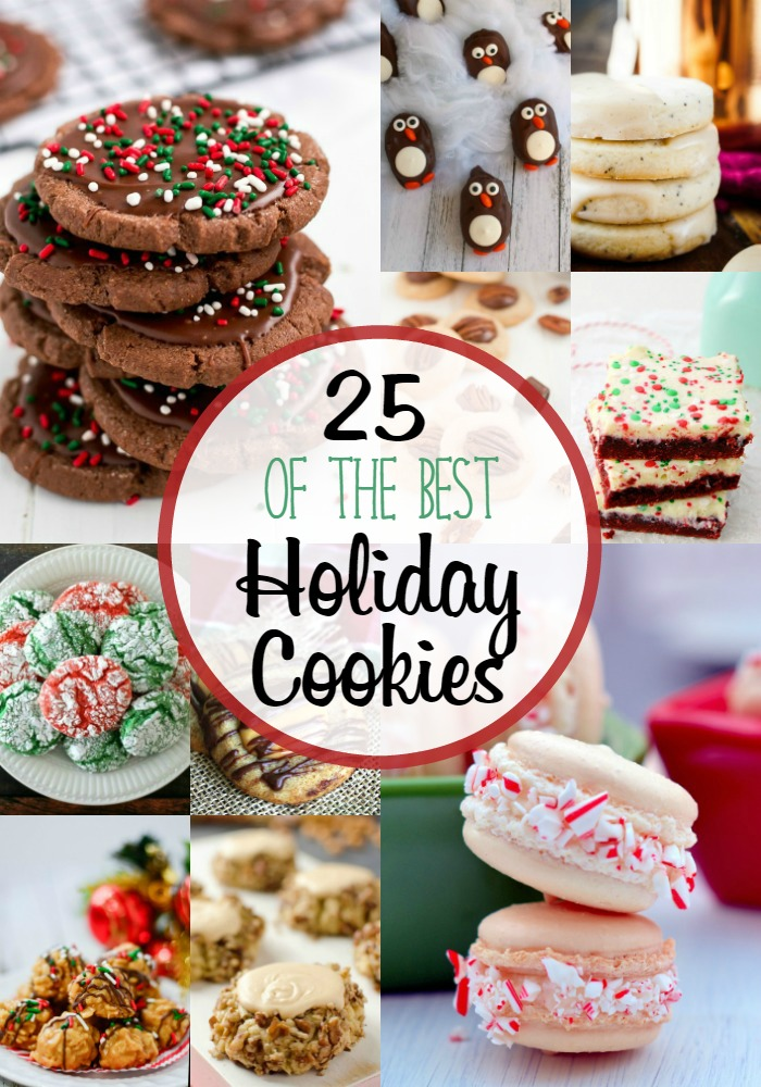 25 Best Holiday Cookies Cooking On The Front Burner