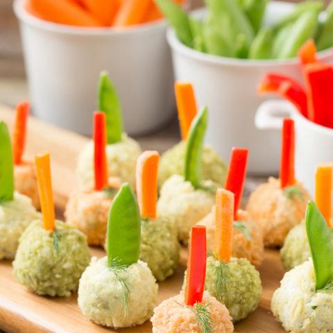Veggie Dip Poppers