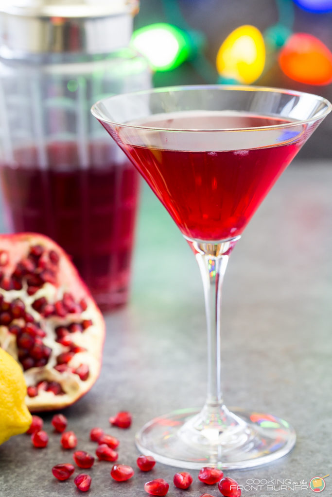Pomegranate Martinis for the Holidays