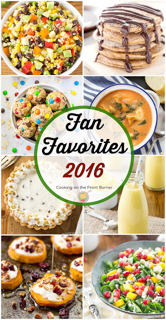 Top Ten Recipes 2016 - Cooking on the Front Burner