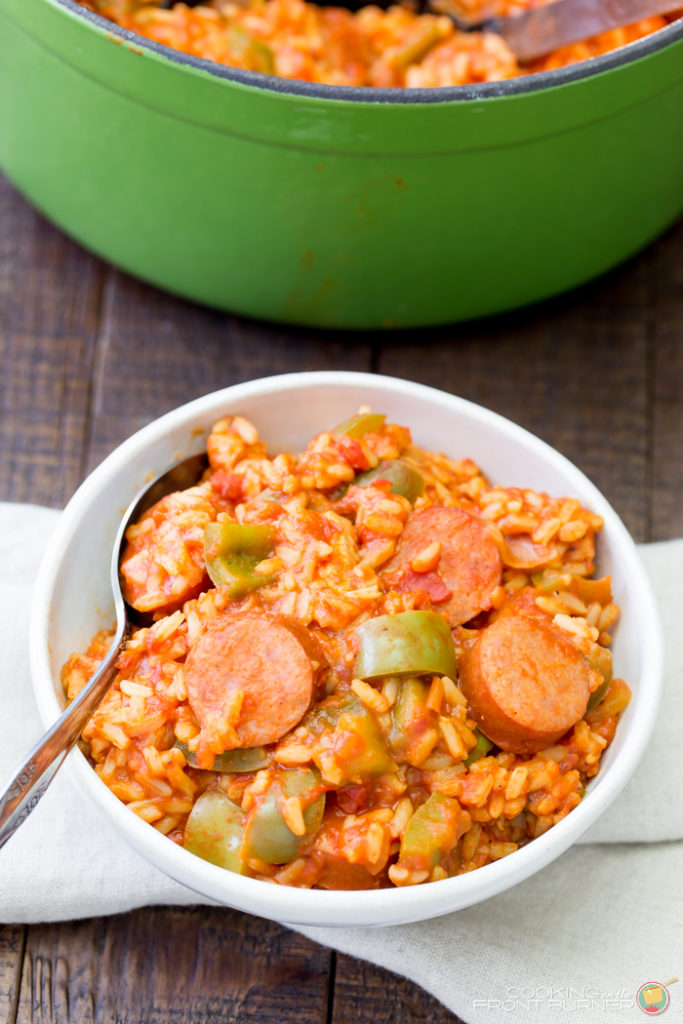 One Pot Easy Jambalaya