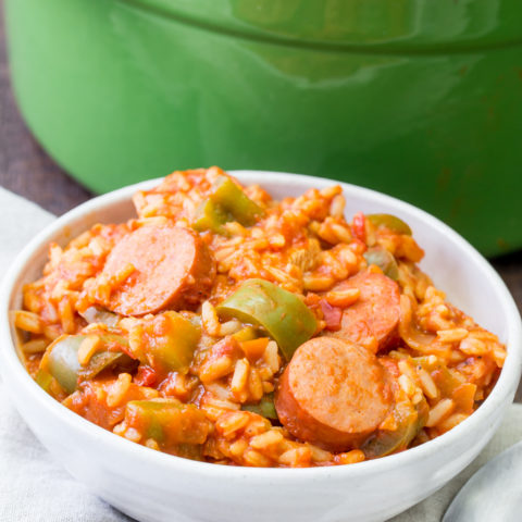 Quick and Easy One Pot Jambalaya