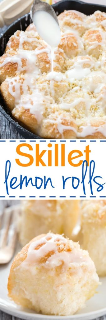 Skillet Lemon Rolls
