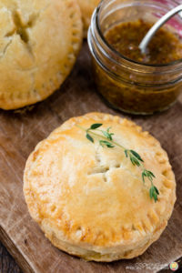 HAM AND BRIE BREAKFAST HAND PIES