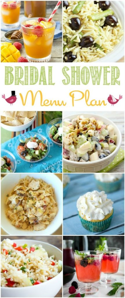 throwing a bridal shower this season our menu plan could help you with some tasty recipes