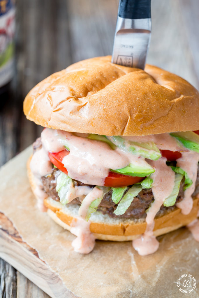 Thick and Juicy Loaded Taco Burgers