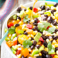 Easy Black Bean Corn Salad