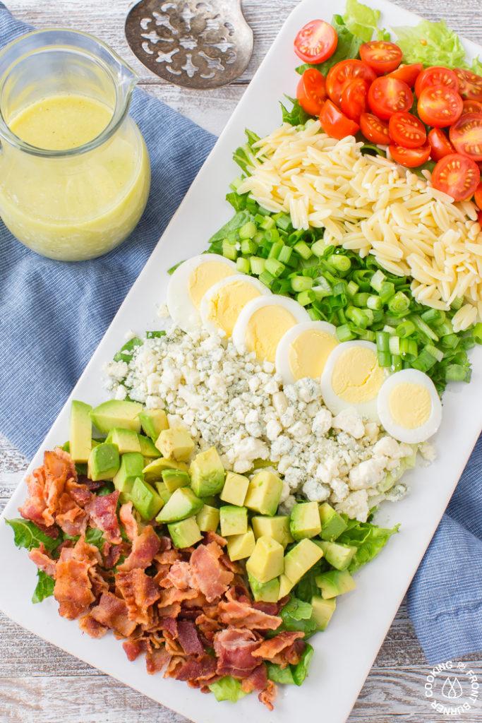 Easy Orzo Cobb Salad