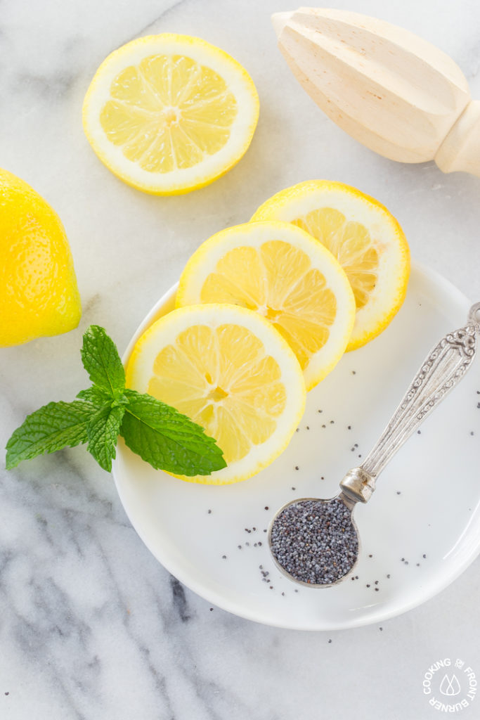 Lemon poppy seed no churn ice cream is so refreshing. With fresh lemon juice and zest, this is the perfect summer frozen dessert recipe!