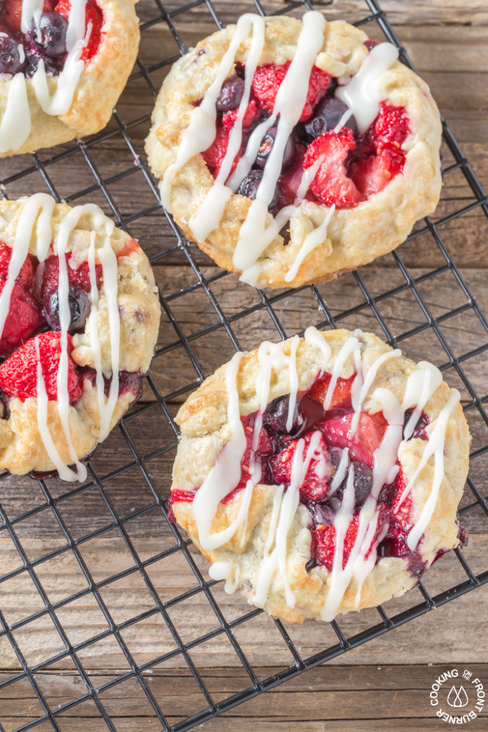 TRIPLE BERRY GALETTE | Cooking on the Front Burner