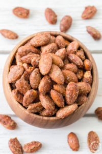 SPICY PUMPKIN SPICE ALMONDS