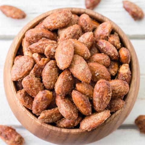 Spicy Pumpkin Spice Almonds